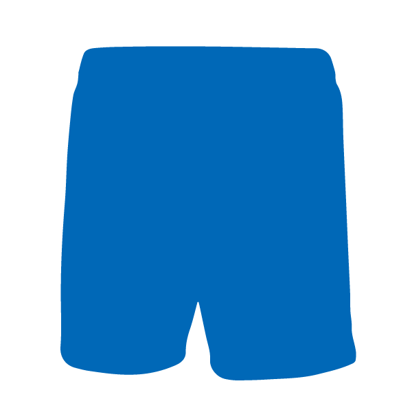 Pantalón corto Joma treviso azul royal trasera