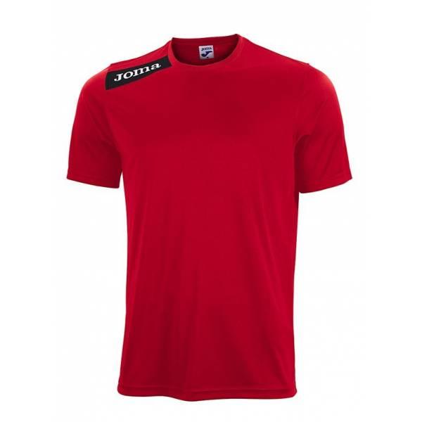Camisetas Victory Joma Manga corta Roja Negro