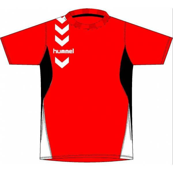 Camisetas Essential color Hummel roja