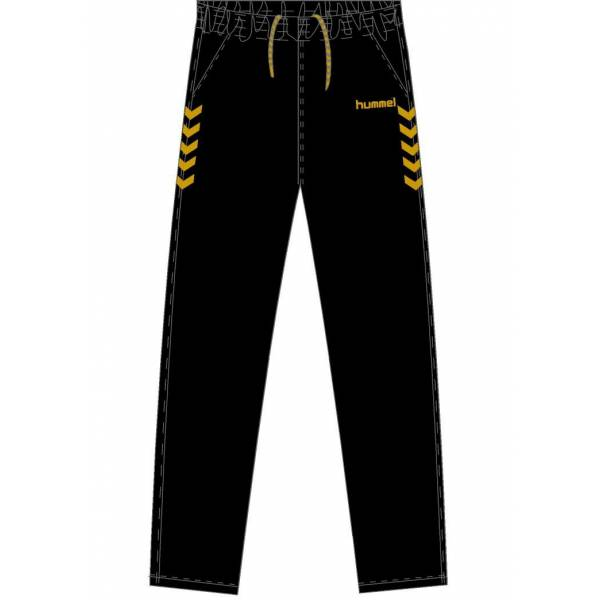 Pantalon chandal Essential Black&Gold Hummel