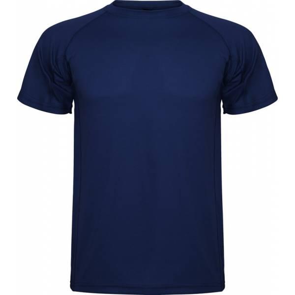 Camiseta Técnicas Roly Montecarlo Hombre azul marino