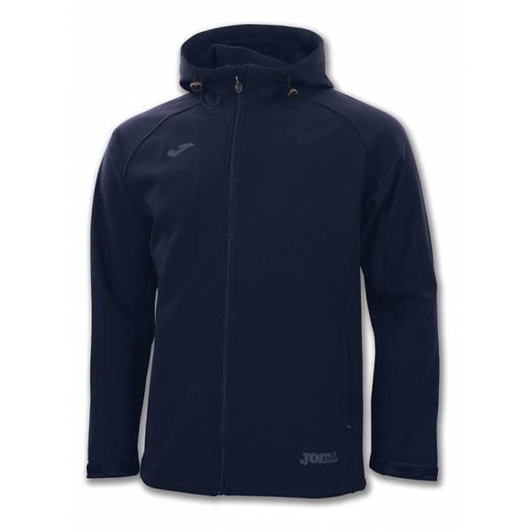 Soft-Shell con capucha Alaska de Joma azul marino