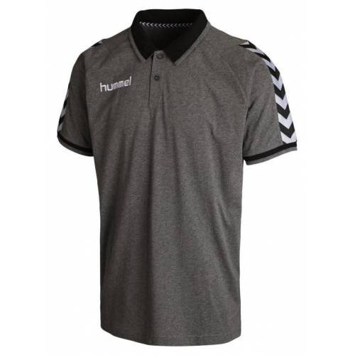 Polo Stay Authentic de Hummel gris