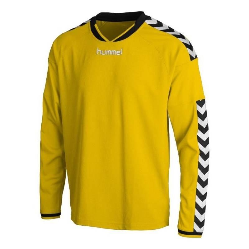 Camiseta Stay Authentic Manga Larga Hummel amarilla e018da9ed17c7