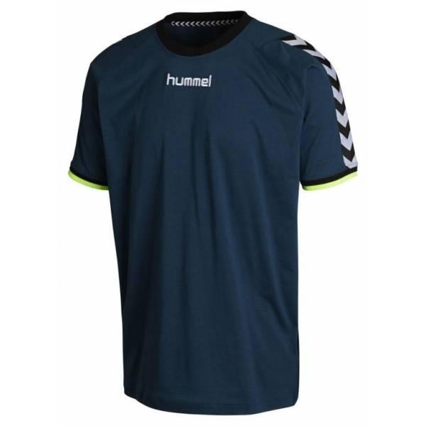 Camiseta Stay Authentic de algodón de Hummel legion blue