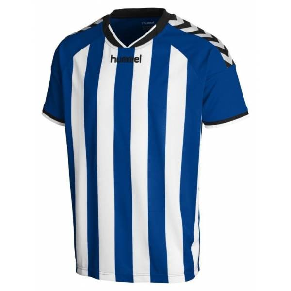 Camiseta Stay Authentic Striped de Hummel azul