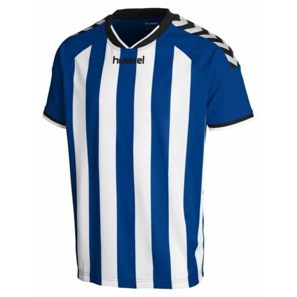 Camiseta Stay Authentic Striped de Hummel azul
