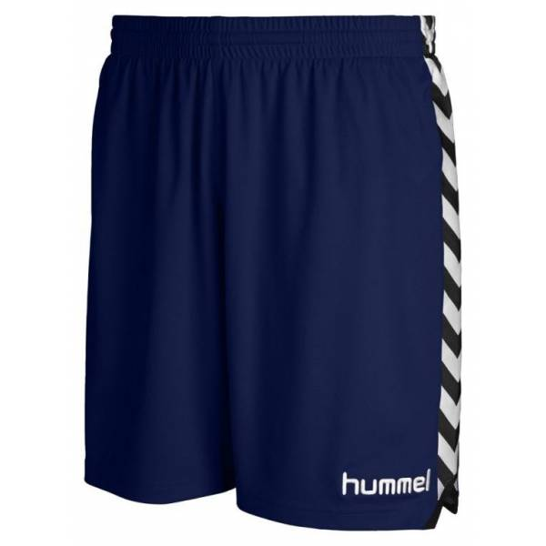 Pantalón corto Stay Authentic Poly Hummel azul marino