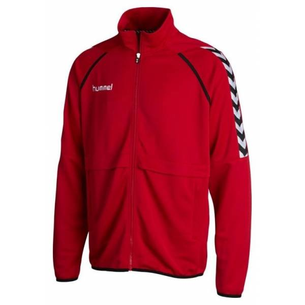 Chaqueta Stay Authentic Poly Jacket Hummel rojo