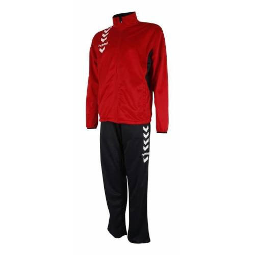 Chandal Essential Hummel Poly Suit rojo