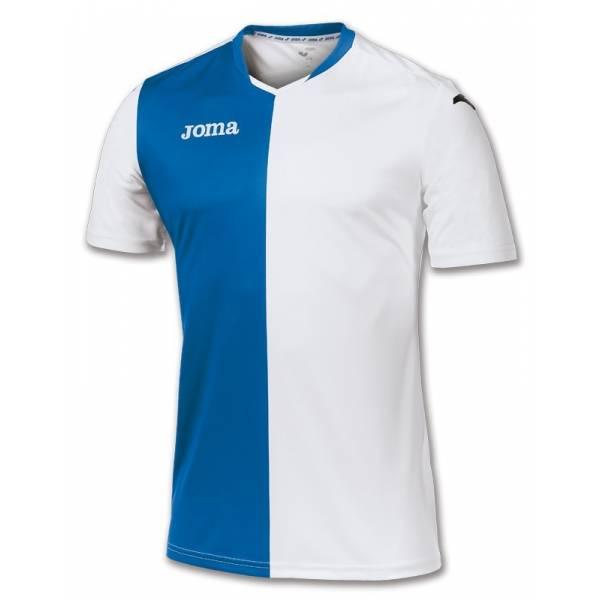 Camiseta Premier Joma azul blanco