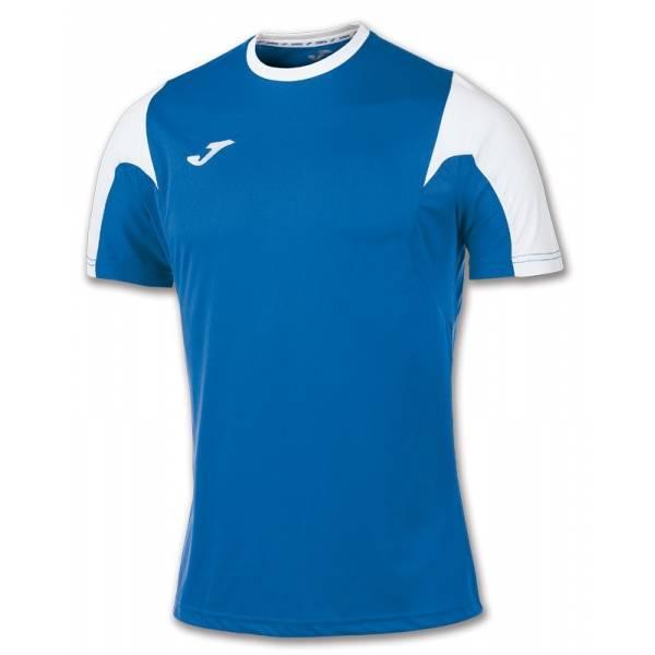 Camiseta Joma Estadio de manga corta azul blanco
