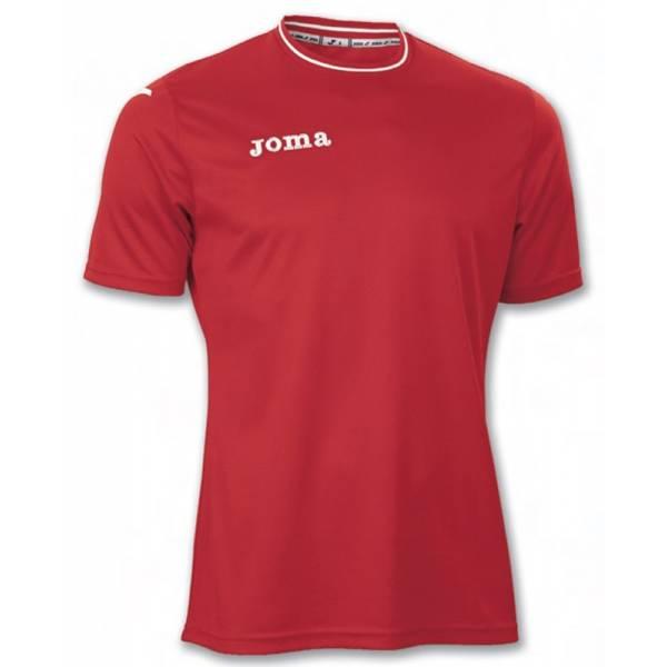 Camiseta Lyon Joma de Manga Corta roja