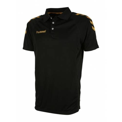 Polo Essential Black&Gold de Hummel