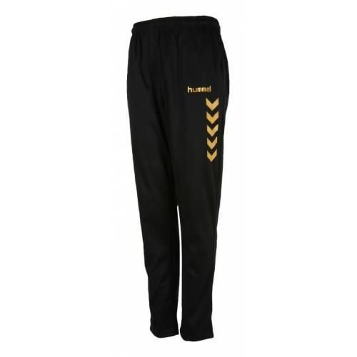 Pantalón chandal Essential Black&Gold Hummel