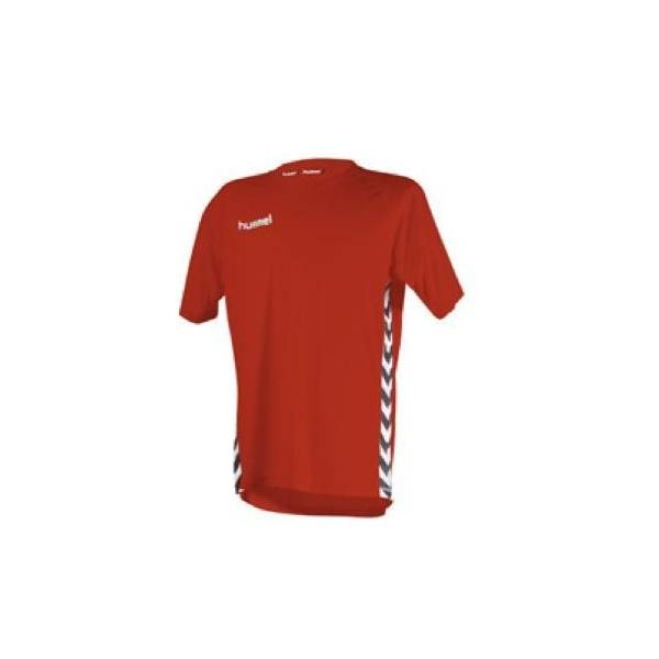 Camiseta Essential Authentic Hummel Manga corta roja