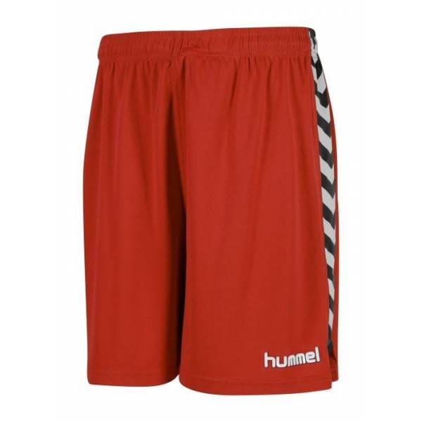 Pantalón corto Essential Authentic Hummel rojo