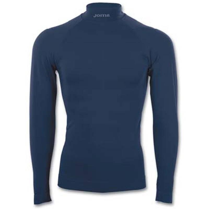 Camiseta térmica Brama Joma Manga larga azul marino fc1f780e2ec29