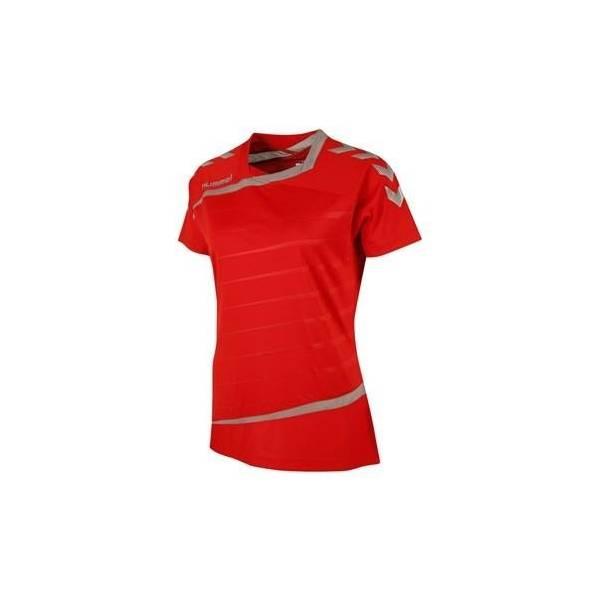 Camiseta Tech 2 Jersey Hummel mujer roja