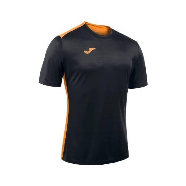 Camiseta Joma Campus II 2016 negra naranja