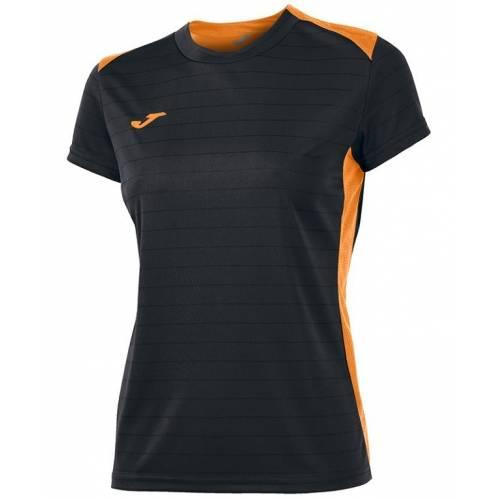 Camiseta de mujer Joma Campus II 2016 negro naranja