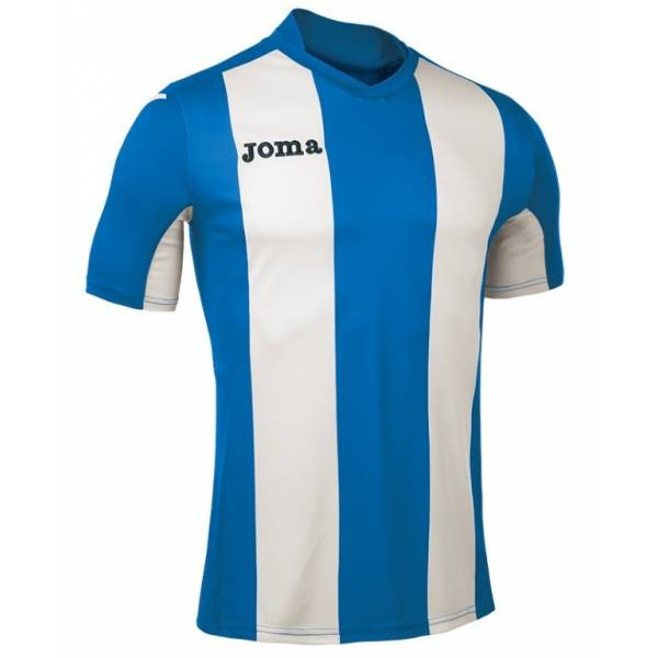 Camiseta rayasPisa V Joma azul blanca