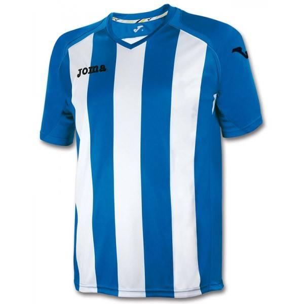 Camiseta rayada Pisa 12 Joma azul blanca