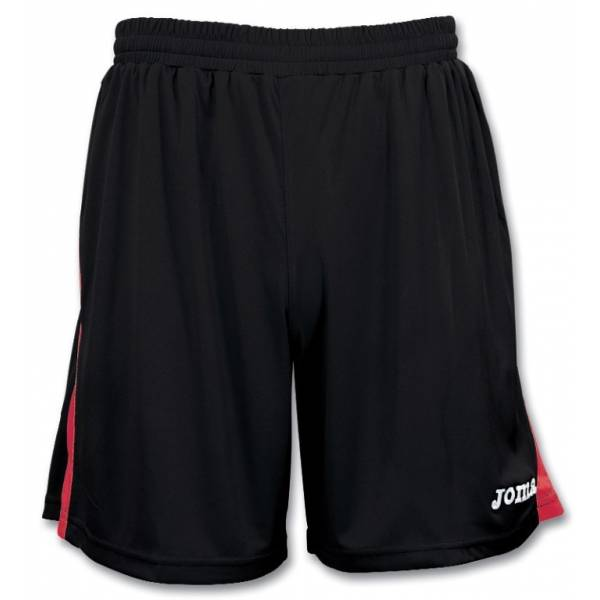 Pantalón corto Tokio Joma negro rojo
