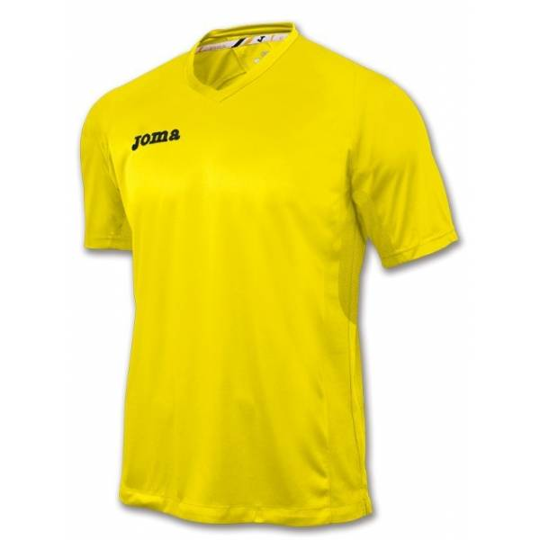 Camiseta baloncesto Triple Joma amarilla