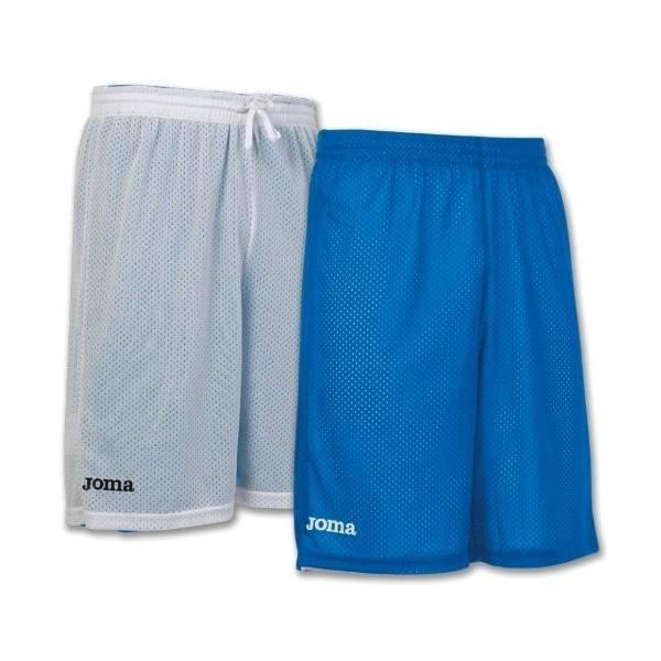 Pantalón corto Baloncesto reversible Rookie Joma azul blanco