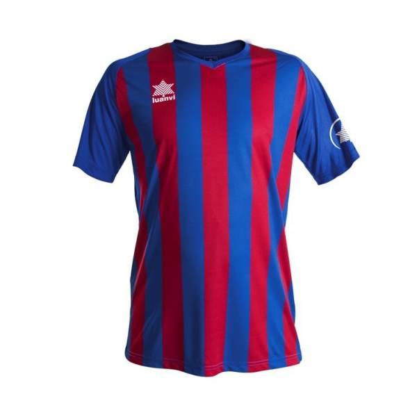 Camiseta rayada New Listada LUANVI azulgrana