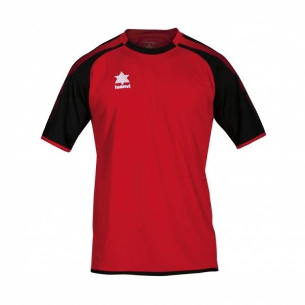 Camiseta London LUANVI manga corta roja