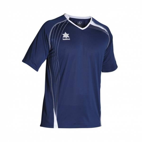 Camiseta Master LUANVI manga corta azul marino
