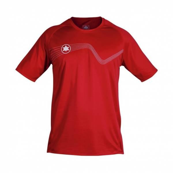 Camiseta entrenamiento Star LUANVI roja