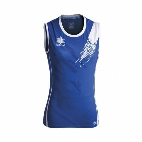 Camiseta voleibol play mujer LUANVI
