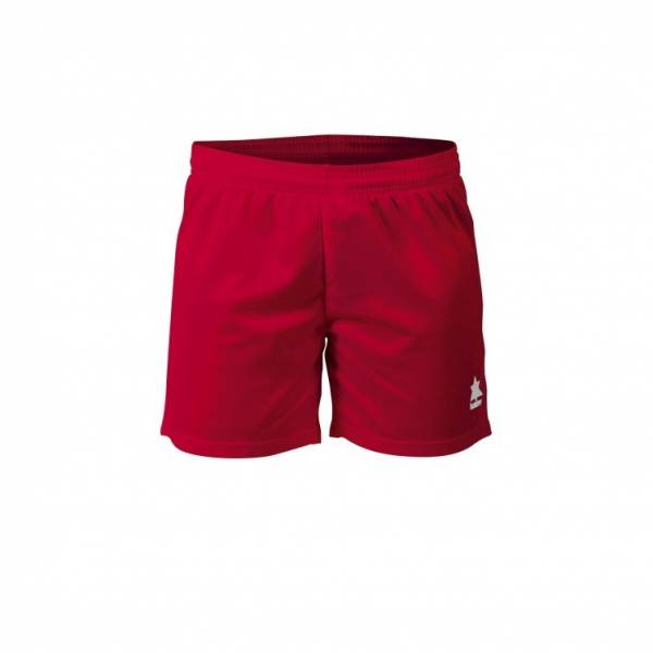 Pantalón corto Gama mujer Luanvi rojo