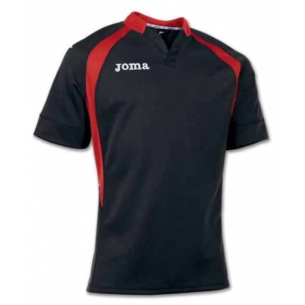 Camiseta de Rugby Prorugby Joma negra roja