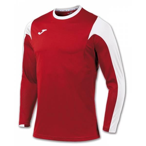 Camiseta Estadio Manda Larga JOMA 2017 roja blanca