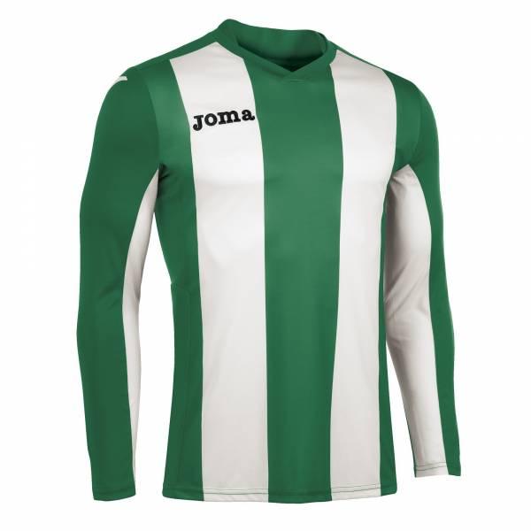 Camiseta Pisa V Manga Larga JOMA 2017 verde blanco