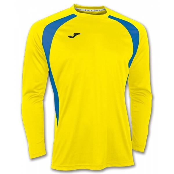 Camiseta manga larga Champion 3 Joma amarillo azul