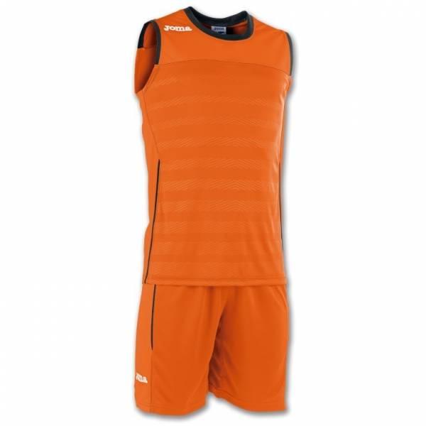 Conjunto Baloncesto Space 2 JOMA naranja