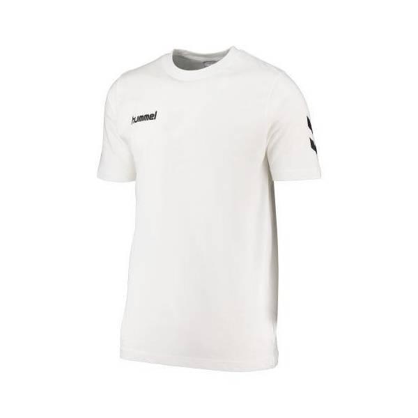 Camiseta de algodón Core Hummel BLANCA
