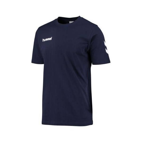 Camiseta de algodón Core Hummel MARINO