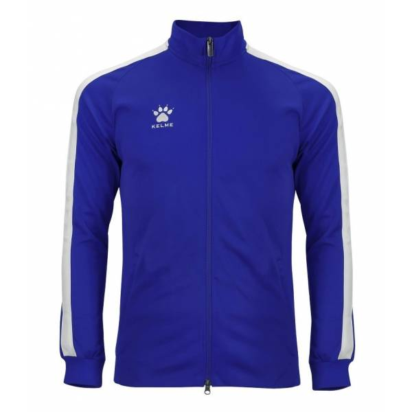 Chaqueta Chandal Global Kelme azul blanco