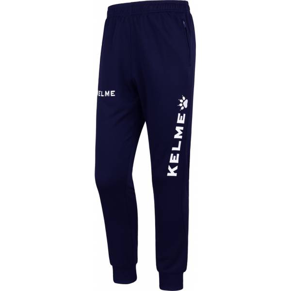 Pantalon Chandal Global Kelme azul y blanco