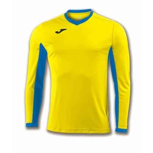 Camiseta manga larga Champion 4 Joma amarilla azul