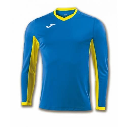 Camiseta manga larga Champion 4 Joma azul amarilla