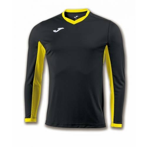 Camiseta manga larga Champion 4 Joma negro amarillo
