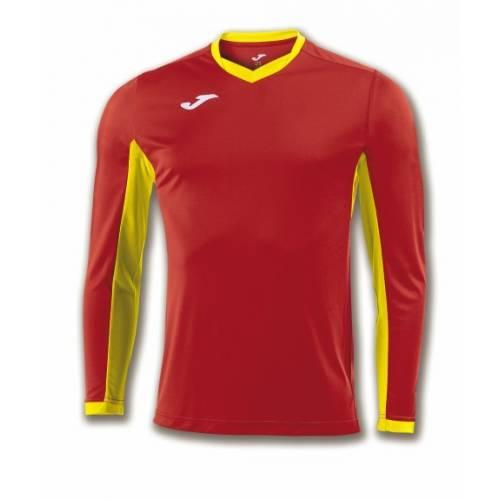 Camiseta manga larga Champion 4 Joma roja amarillo