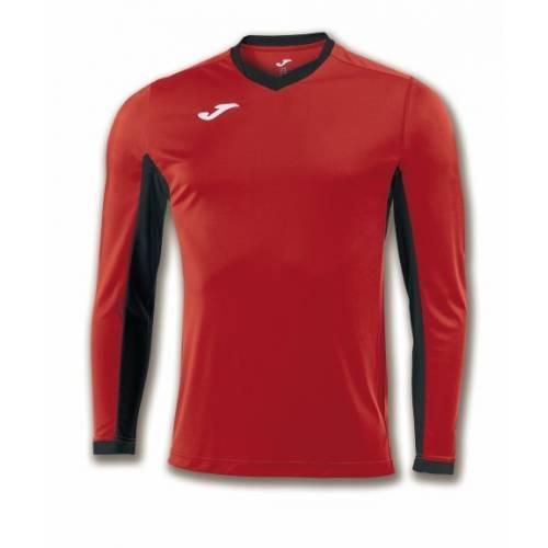 Camiseta manga larga Champion 4 Joma roja negro